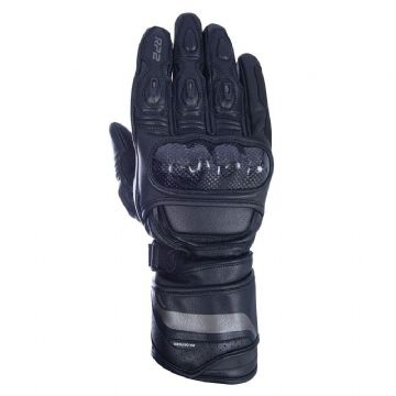 Oxford RP-2 Sports Leather Motorcycle Gloves Tech Black All Sizes